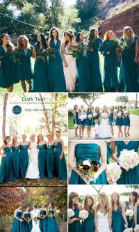 Top 10 Colors For Fall Bridesmaid Dresses 2015 #2572624