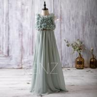 2016 Dark Mint Junior Bridesmaid Dress, Empire Waist ...