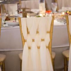 Wedding Chair Sash Office Yakima Wa Dekor Chiffon Chiavari 2580196 Weddbook