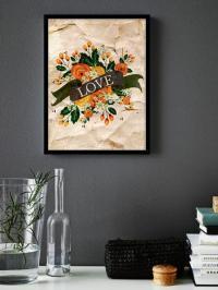 Quote Art Print - 6x8 Printable Instant Download, Love ...
