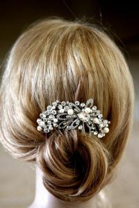 vintage pearl bridal hair accessories vintage inspired ...
