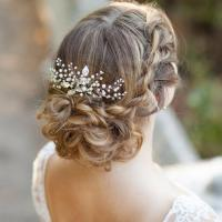 bridal hair combs wedding hair combs decorative hair pearl ...