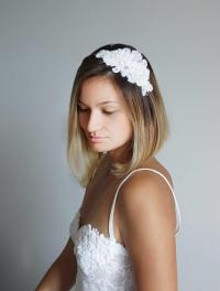 Bridal Hair Piece,Wedding Headband, Wedding Hair Piece