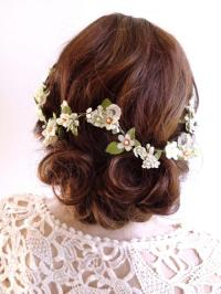 Bridal Hair Vine, Floral Hair Piece, Hair Vine, Lace Hair
