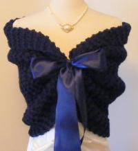Navy Wedding/Wedding Shrug/Cover Up/Something Blue/Wedding ...