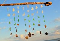 Sea Glass Wind Chime ~ Gift Idea For Couples, Housewarming ...