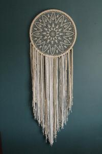 GIANT Dream Catcher, BOHO Wedding Decor, Large Dream