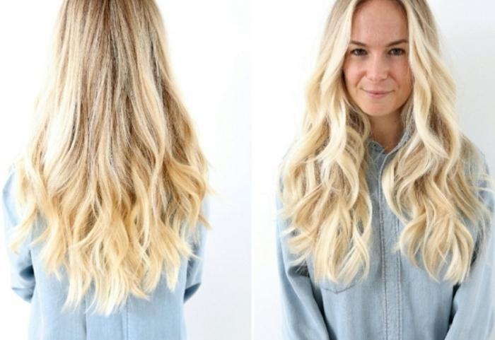 Blonde Frisuren Blonde Lange Haare #2599127 Weddbook