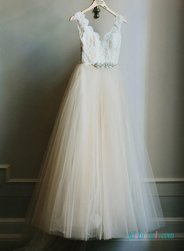 Ivory Colored Wedding Dresses
