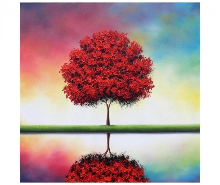 colorful landscape painting original