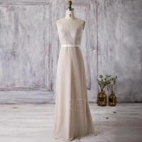 The gallery for --> Beige Lace Bridesmaid Dress
