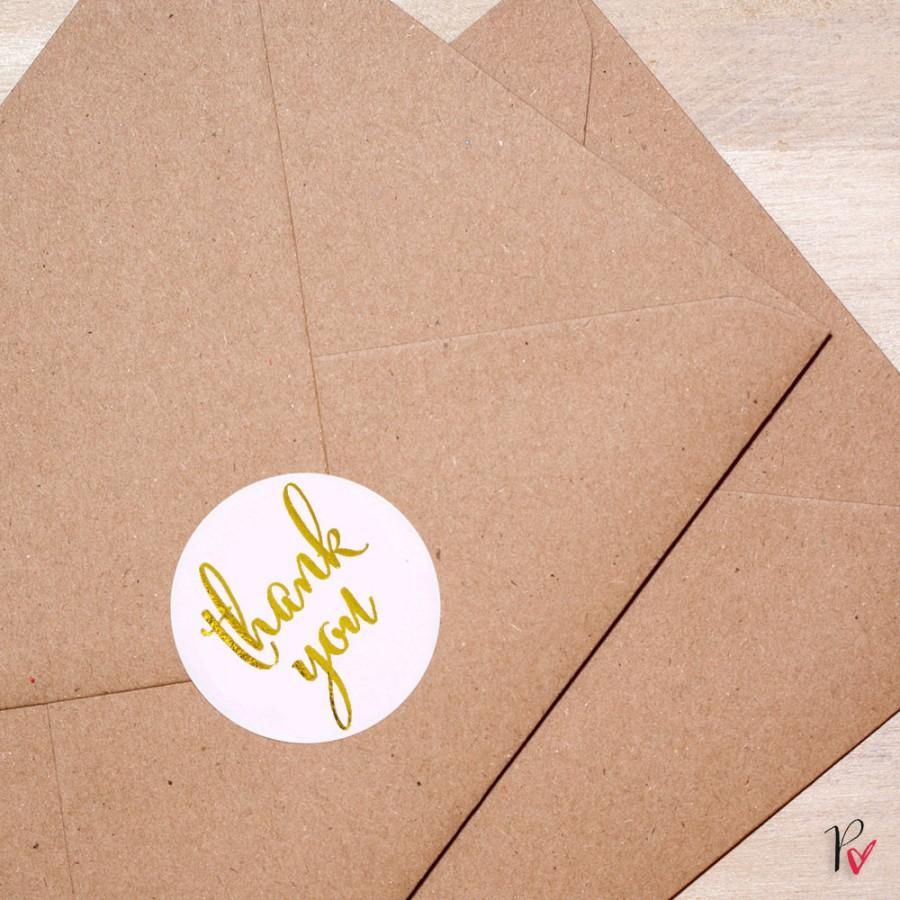 gold foil rounded labels