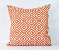 Coral Throw Pillow Case 20x20 Decorative Boho Pillowcase ...