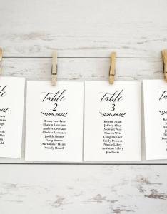 Wedding seating chart template printable also cards elitadearest rh