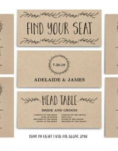 Wedding seating chart template printable header signs and instant download classic wreath sc vw also rh dedbook