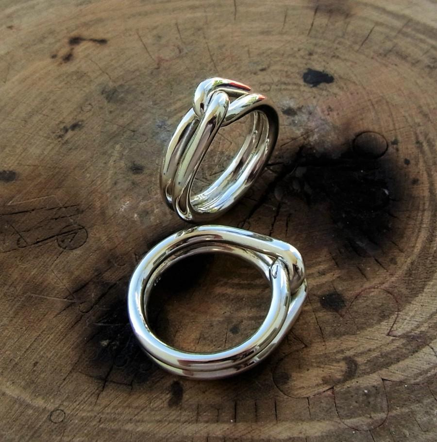 Alternative Wedding Rings Couple Promise Ring His And