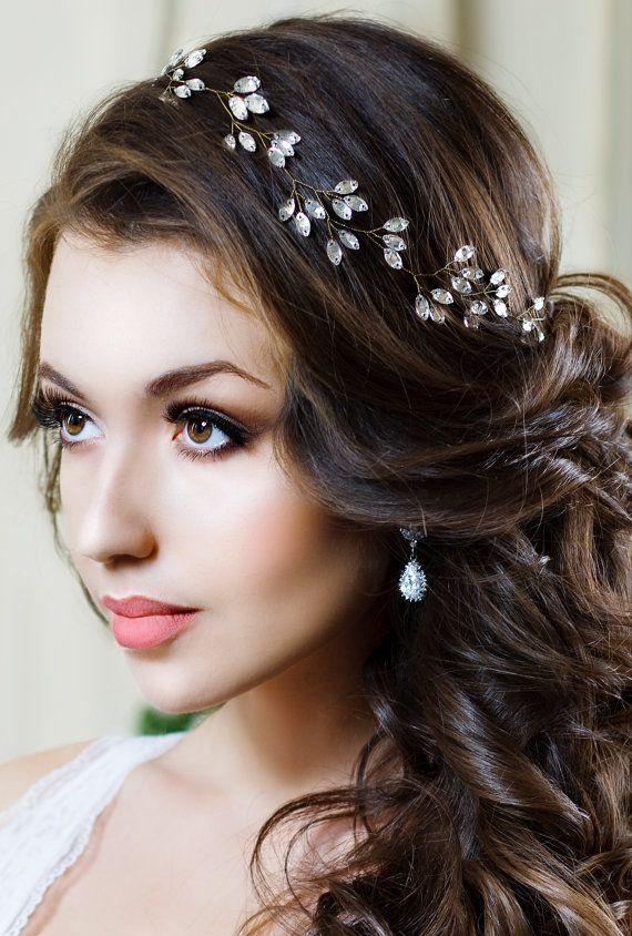 bridal headband crystal headpiece crystal tiara wedding hair accessories crystal crown bridal tiara bridal hair jewelry bridal halo