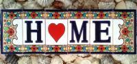 Vintage Spanish Ceramic Letter Tile Ceramic Letters House ...