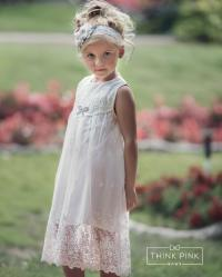 Flower Girl Dress, Rustic Flower Girl Dress, Country Lace ...