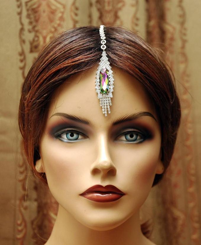 free shipping maang tikka headpiece, hair jewelry bridal