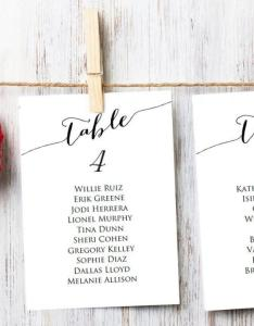 Table seating cards template wedding chart diy sizes  and  plan printable usd also rh weddbook