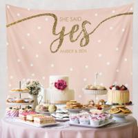 She Said Yes, Bridal Shower Decorations, Engagement Decor ...