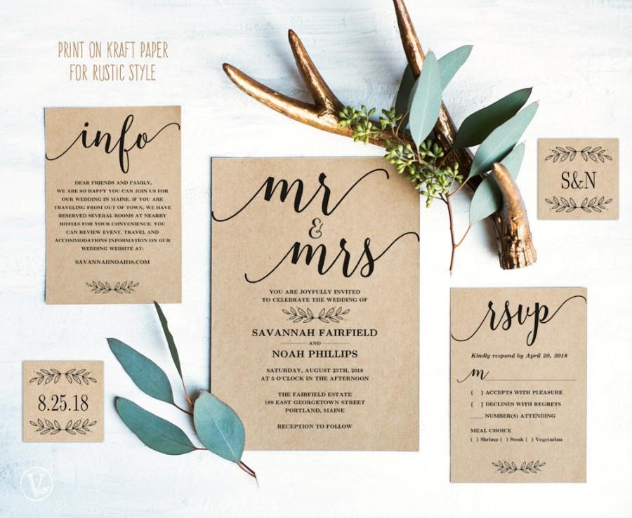 Comfortable Plain Wedding Invitation Templates Inspirational