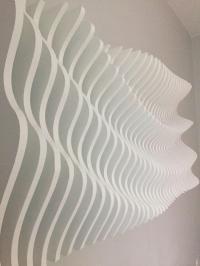 Modern Wall Art Sculpture