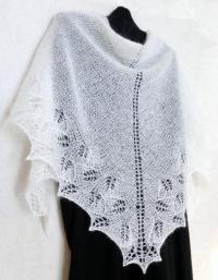 Snow White Lace Shawl. Wedding Shawl, Winter Wedding