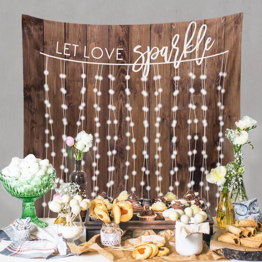 Rustic Wedding Decorations, Rustic Wedding Engagement