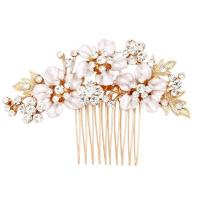hair combs wedding dress wedding gold flower bridal hair ...