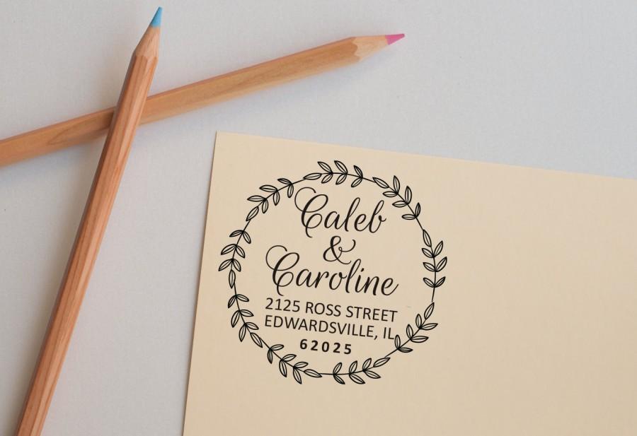 wedding stamp return address