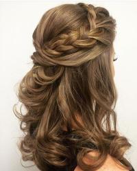Hair - Half Up Half Down Hairstyle #2717663 - Weddbook