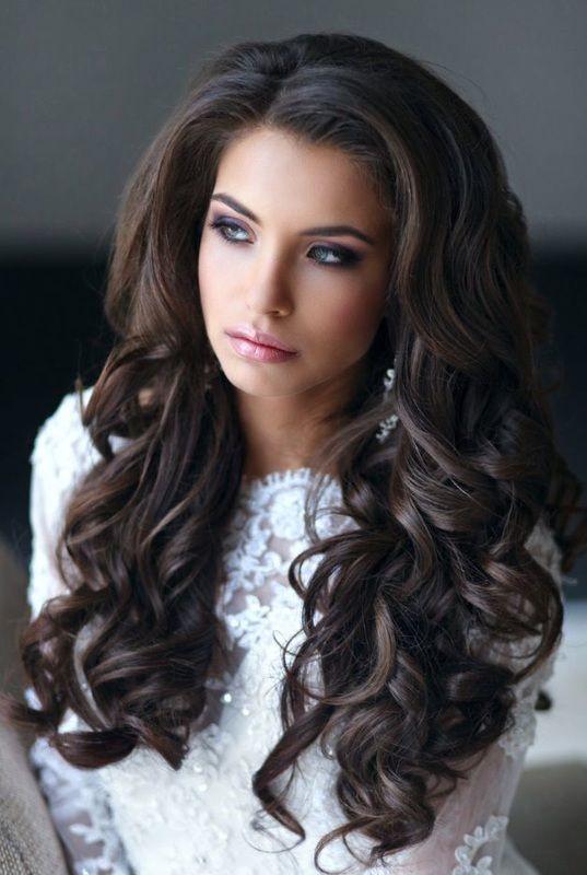 hair wedding hairstyle down