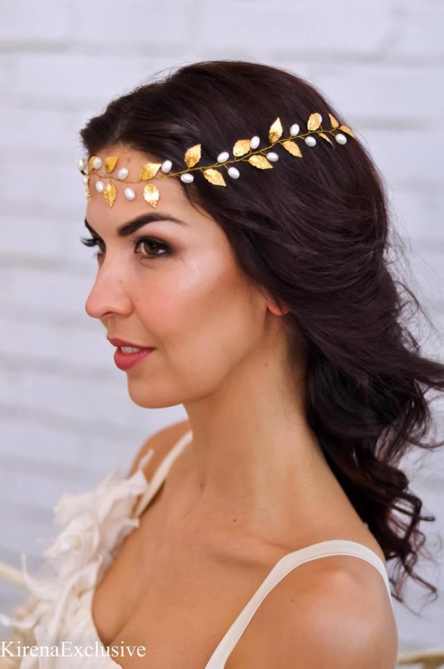 wedding tiara bridal headband wedding hair vine bridal hair