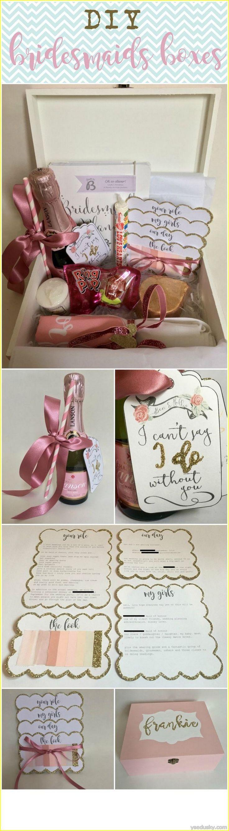 bridesmaid diy bridesmaid gift