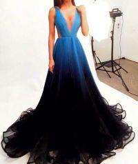 Prom Dress,Prom Dresses,Ombre Prom Dress Simple Chiffon ...