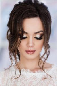 Hair - 30 Stylish Wedding Hair And Makeup Ideas #2787157 ...