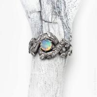 Unique Engagement Ring, Opal Promise Ring For Her, Opal ...