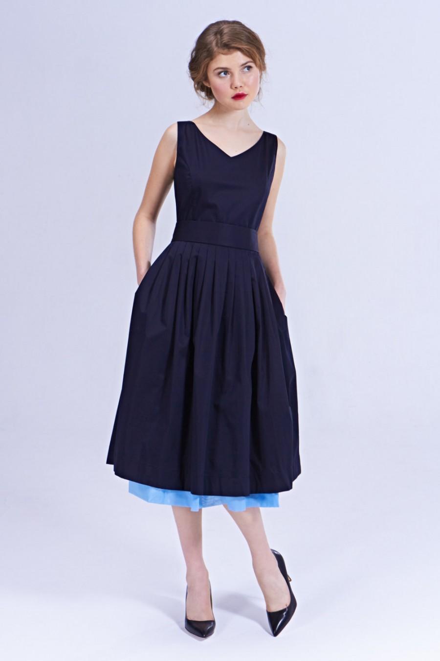 Navy Bridesmaid Dress Navy V Neck Dress Bridesmaid Dresses
