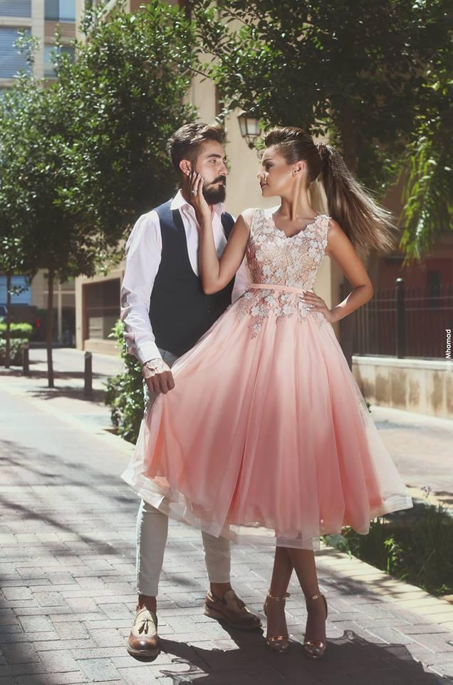 Cocktailkleid rosa pink  Beliebte kurze kleider