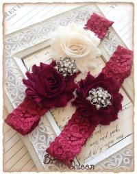 Lace Wedding Garter Set, Vintage Garter, Lace Garter ...