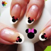 disney nail art cartoon childrens