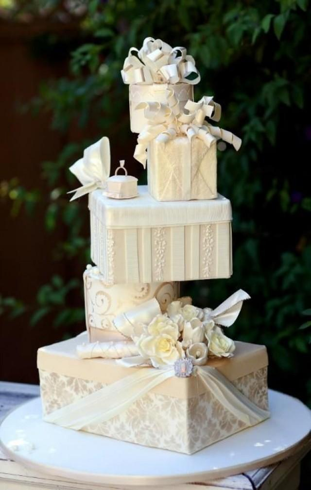 Unique Wedding Cake  Wedding Cake 2040082  Weddbook