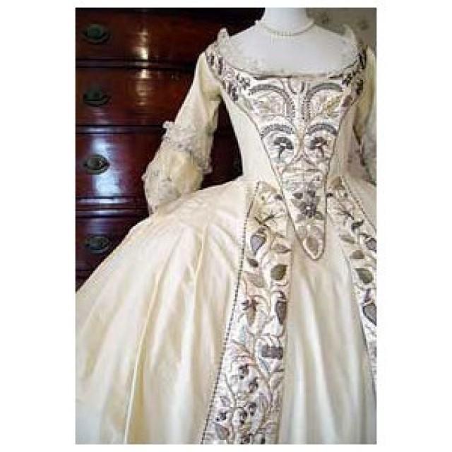 Baroque Wedding French Ball Gown Wedding Dress 2048399
