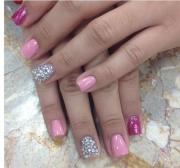 pink wedding - rhinestone