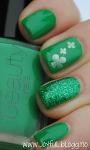green wedding - cute nails #2050927
