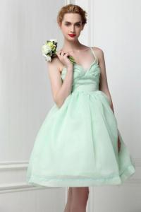 Organza Mint Green Ballet Tutu Bridesmaid Dress Fairy ...