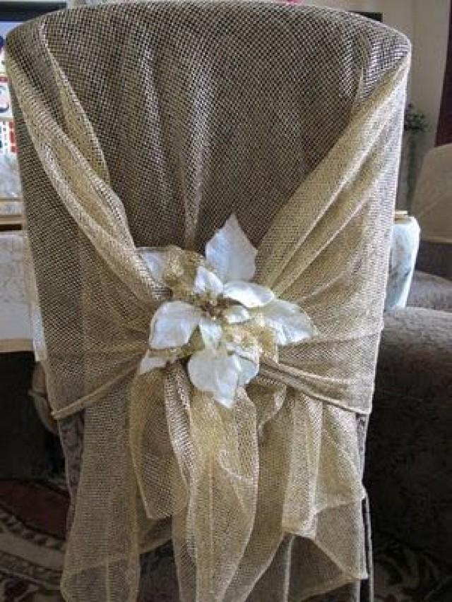 christmas chair covers pinterest makes into bed wedding gifts decorations decor