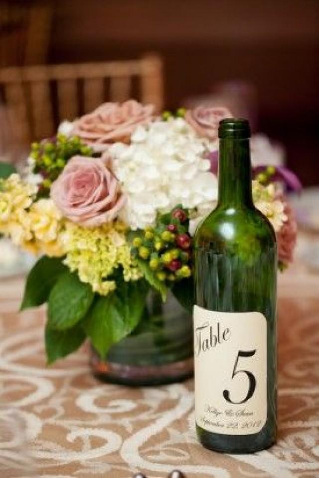 Wine Wedding  Wine Bottle Table Numbers 2056518  Weddbook